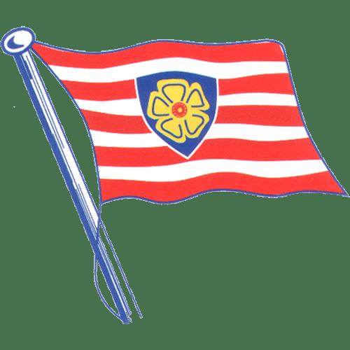Ruderclub Allemannia Hamburg Flagge
